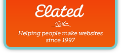 Elated: Helping people make websites since 1997